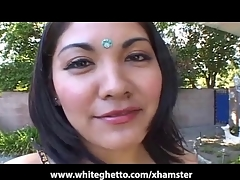 Desi Asian With Hirsute Pussy Gets Creampied
